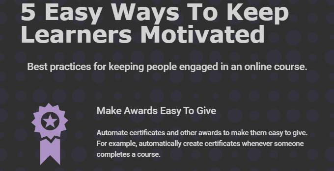 5 Easy Ways To Keep Learners Motivated [Infographic]