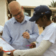 Community outreach in Liberia by UNMEER
