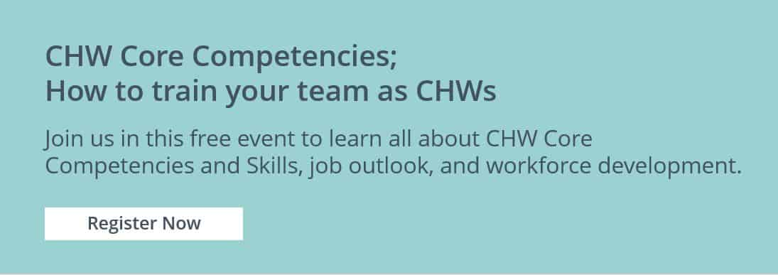 How to train your team as CHWs with core competencies