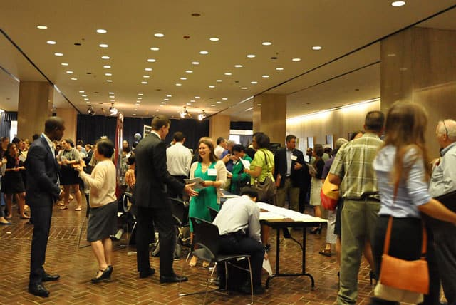 Job fairs are often a great place to find work for CHWs